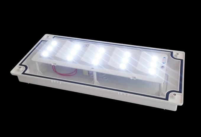 Baterai Industri Waterproof 220V Backup Led Darurat Pencahayaan Escape