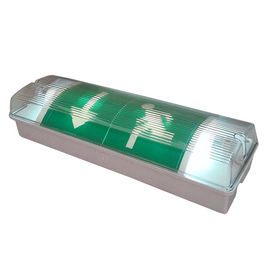 Fluorescent Waterproof Fire Retardant ABS Casing dan PO Diffuser Emergency Light pemasok