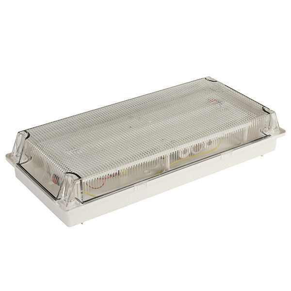 Casing PC Waterproof Fluorescent dan Lampu Darurat diffuser