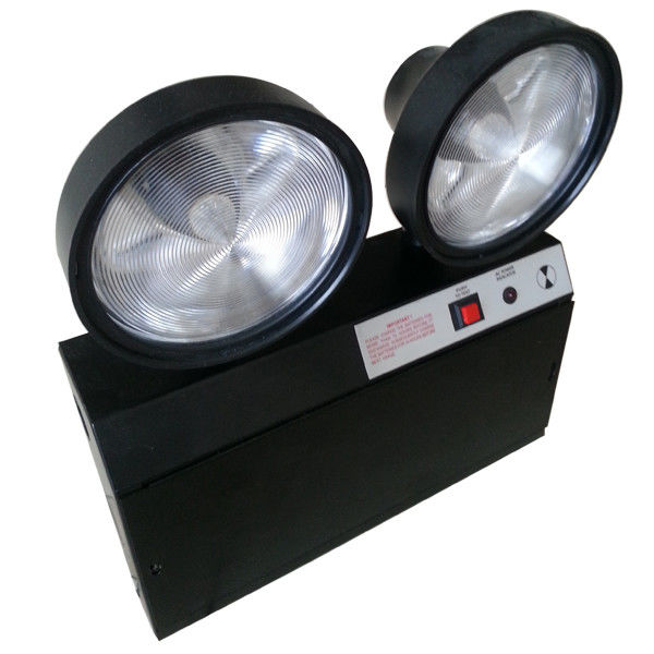 IP20 3 Jam Operasi Led Emergency Twin Spot Security Light Baterai Powerd