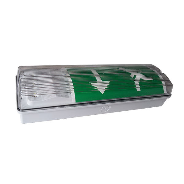 IP65 Waterproof Emergencyhead LED Emergency Lights Ni - Cd Baterai Isi Ulang