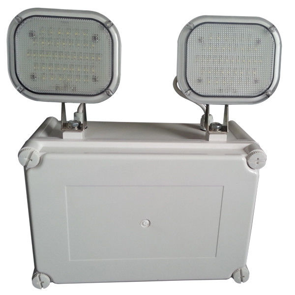 IP65 Waterproof LED Twin-spot Emergency, Ni-Cd Light Battery Operation