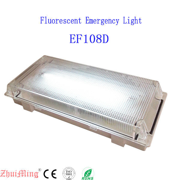 LED IP65 Waterproof PC Diffuser Baterai Darurat Isi Ulang